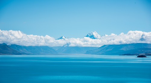 New Zealand, Mount Cook/Lake Pukaki,  Southern Island